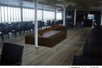 滋賀県の琵琶湖汽船が外輪船ミシガンに「温泉の足湯」を12月15日より設置