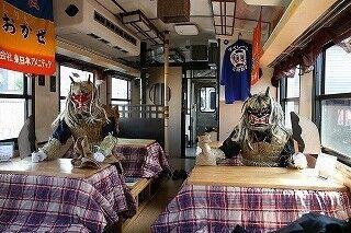 三陸鉄道、こたつ&ミカンが楽しめる「こたつ列車」が2年ぶりに復活!