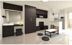 レオパレス21、女性むけの大容量収納家具付きアパートを発売