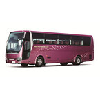 三菱ふそう、大型観光バス「エアロクィーン」と「エアロエース」にAMB装備