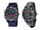 天体観測などに適した、LEDライト搭載腕時計を発売-リコー