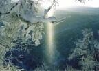 北海道に冬の神が光臨? 神秘の自然現象「サンピラー」