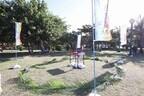 東京都小笠原諸島父島の日本一早い海びらきでアームレスリング大会開催!