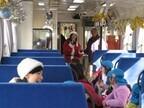滋賀県、信楽高原鉄道がクリスマスモードに! サンタと一緒に盛り上がろう