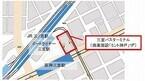 高速バス「ムーンライト号」、兵庫県神戸市の三宮バスターミナルに乗り入れ