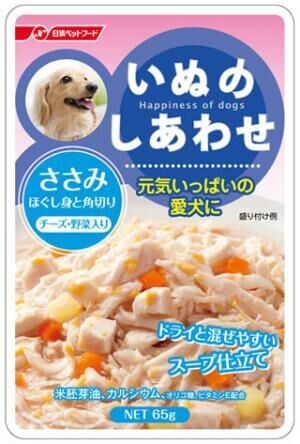 日清ペットフード、高齢犬の食事にも使えるドッグフードを発売