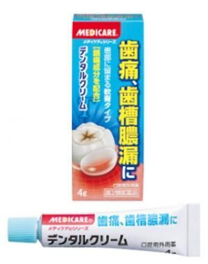 歯周病の痛みを抑える「デンタルクリーム」、森下仁丹より発売