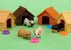 動き回るミニチュアペット玩具「じゃれ犬」発売 -超小型変軸モーター搭載!