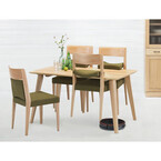 フランスベッド、椅子の足を浮かせられるダイニングテーブルシリーズ発売