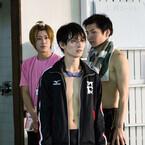 イケメンたちが肉体美&ガチ水泳姿披露 - 『男水!』第1話場面写真公開