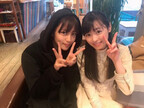 福原遥、事務所の先輩・川口春奈との2ショット公開でファンから「可愛すぎ」