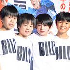 1,346人から抜擢! 4人の少年が、『ビリー・エリオット』パフォーマンス披露