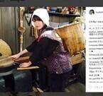 深田恭子のおしん風ちゃんちゃんこ姿に反響「可愛すぎ」「村人のアイドル」