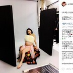 加護亜依、マタニティーフォト公開「ビヨンセ様ならぬカゴンセです」