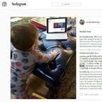 アン・ハサウェイ、息子の写真を初公開