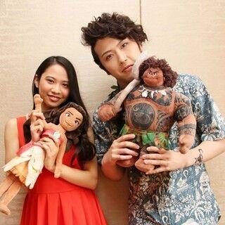屋比久知奈&尾上松也が語る『モアナと伝説の海』のメッセージ - 声優参加の喜びと役割も