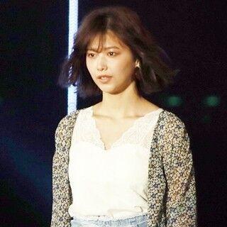 欅坂46・渡邉理佐、グループ唯一のTGC出演「まだ一人は慣れないです」