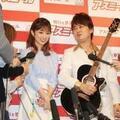 AMEMIYA、小倉優子を報道陣から歌でガード「ストッパーです!」