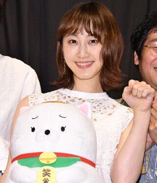 松井玲奈、清水富美加とW主演の『笑う招き猫』は「素敵な映画に」と自信