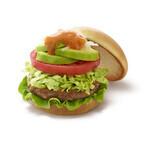 野菜たっぷり! モスバーガーが「アボカドサラダバーガー」を期間限定発売