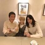 神田沙也加、村田充と結婚へ「見守って」- 父・神田正輝との3ショット公開