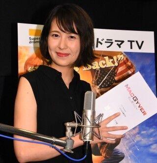 青木裕子、海外ドラマ吹き替え初挑戦 - 自己評価は「50点」と控えめ
