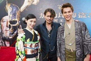 栗山千明&中川大志、ジョニー・デップとの対面に感激「涙が出そうでした」