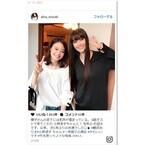観月ありさ、小林涼子との2ショットにファン絶賛「美人姉妹みたい」