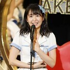 SKE・惣田紗莉渚、総選挙で8位!「お前は邪道」言った