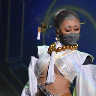浅田舞、腹筋あらわな妖艶衣装「良かった」 身体能力生かし殺陣に挑戦