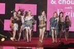 新生E-girls、美脚あらわにパフォーマンス! GirlsAwardでサプライズライブ