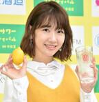 柏木由紀、お昼にレモンサワーで乾杯「罪悪感がありますね(笑)。最高です!」