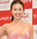 2018トリンプ・イメージガール、ミスコン日本代表の越川友貴が選出