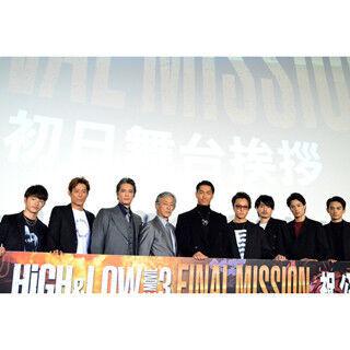 AKIRA、『HiGH&LOW』は「奇跡に近い」と感謝! TAKAHIROはバイクおねだり