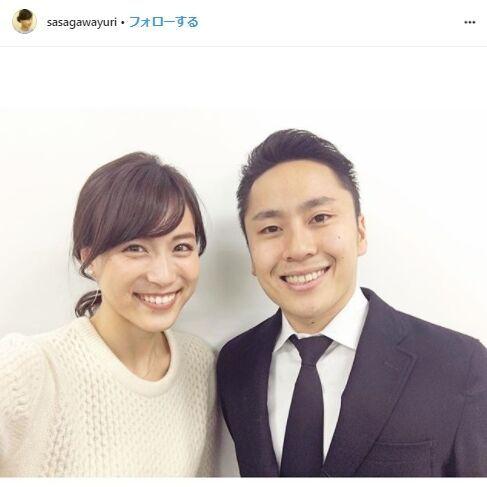 TBS笹川友里アナ、フェンシング太田雄貴氏と結婚「二人三脚で歩んでいく」