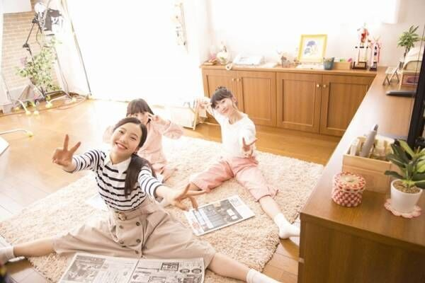 本田3姉妹、驚異的な体の柔らかさ披露! 日常のくつろぎ姿描く新CM公開
