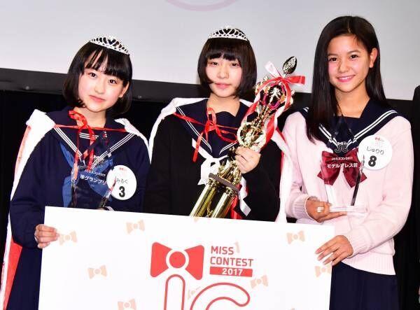 """初代""""日本一かわいい中学生""""、福岡県出身で中学2年生のさきさんがグランプリ"""