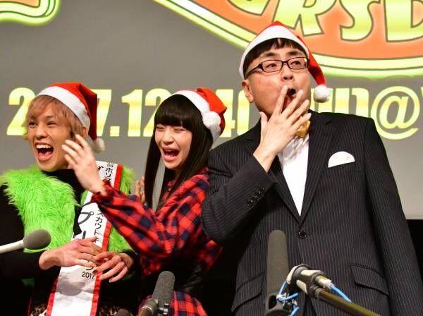 "NGT48の荻野由佳、イジリー岡田の生""高速べロ""に「気持ち悪かった!」"