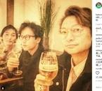 香取・稲垣・草なぎの乾杯3ショットにファン歓喜「ありがとう新しい地図」