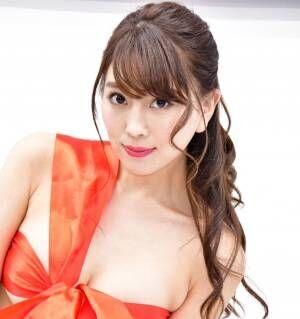 Gカップ森咲智美、ストッキングを破られて「ドキドキ!」