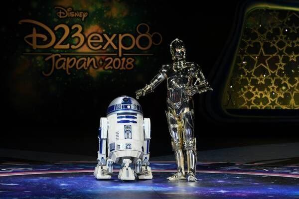 『SW』C-3PO&R2-D2コンビ、D23登場! BB-8不在に「あの子は最近忙しい」