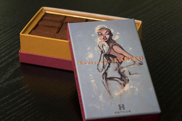 寒天使用の低カロリー生チョコが発売 - 画家・金子國義とコラボ