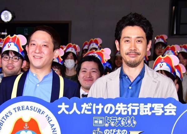 大泉洋、海賊役で出演した『映画ドラえもん』は「のび太くんが金メダル!」