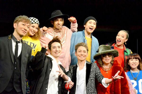 屋良朝幸、ディスコテーマのプロデュース公演に「新しい時代作れたら」