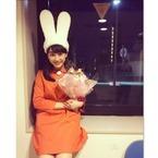 平祐奈のミッフィー姿に「可愛すぎる」とファン称賛