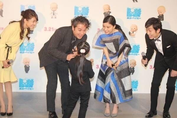 ムロツヨシ&芳根京子、子役の女の子にメロメロ「超かわいい」