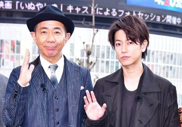 佐藤健、16年ぶりに映画主演の木梨憲武は「モーガン・フリーマンのよう」