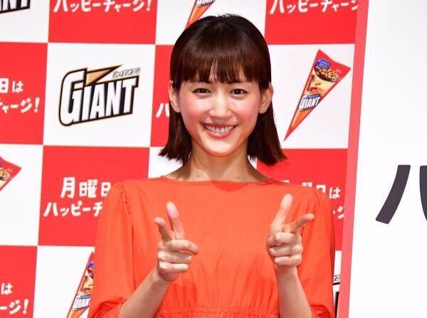 綾瀬はるか、CMでダンディ坂野とゲッツ! 披露「初めての経験で楽しかった」