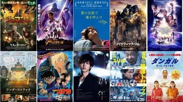 "Filmarks4月映画期待度ランキングTOP20発表! 1位は""絶賛の嵐""の作品"