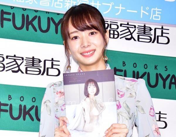 雀士モデルの岡田紗佳、初写真集の出来は「親の倍満! 24,000点ぐらい」